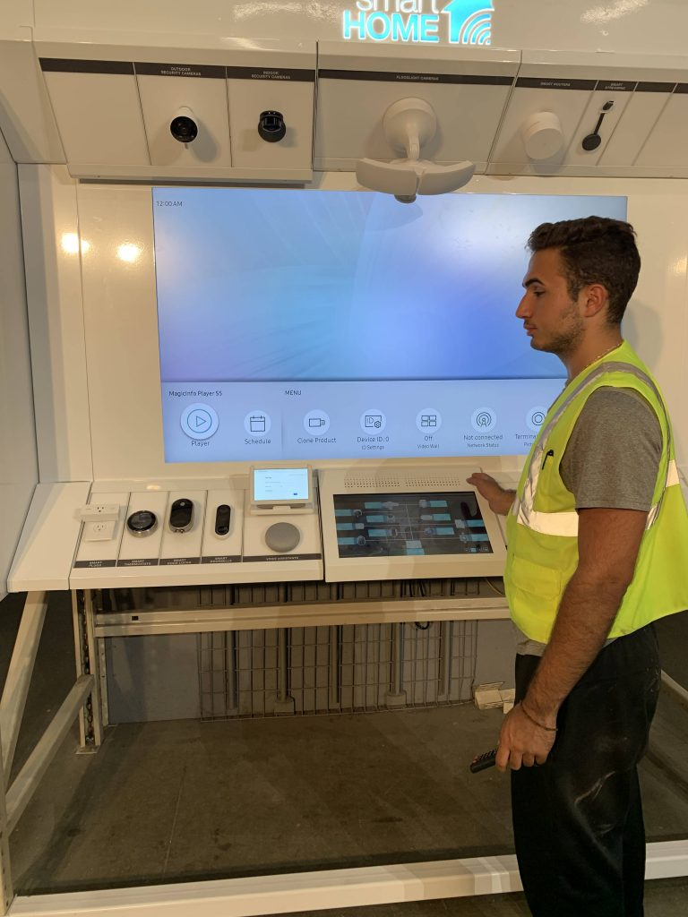 Interactive Installation Saugus MA